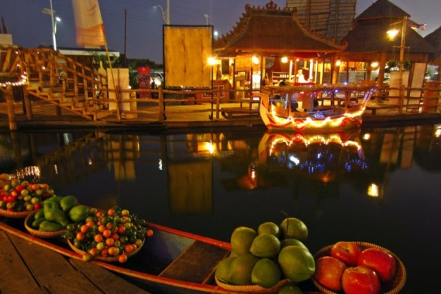 Pasar Apung Musang